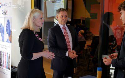 Minister Andrews launches Qlicksmart Digital Platform at Cohort Innovation Space